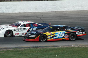 Racing at Thompson Speedway